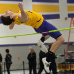 Photo by Jack McLaughlin. The Pointers track and field team has jumped over the competition so far this season.