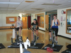 Photo courtesy by uwsp.edu Students exercise in the Allen Center.