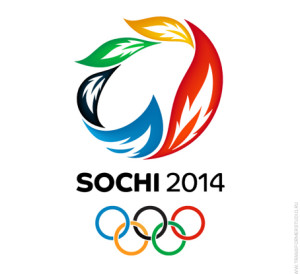 Photo courtesy of mcwade.com. 2014 Olympic logo, taking place in Sochi, Russia