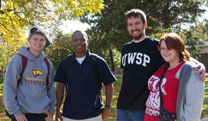 Photo courtesy of uwsp.edu UWSP students pose for a brochure.
