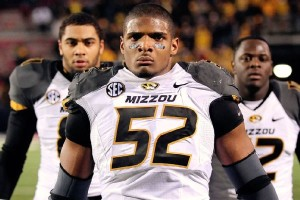 Photo courtesy of espn.go.com. Michael Sam (52) announced his homosexuality earlier this week.