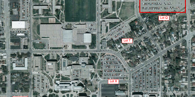 Uwsp unveils new parking plan the pointer for Department of motor vehicles stevens point wisconsin
