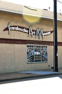 The Scarabocchio Art Museum located in downtown Stevens Point. Photo by Emily Hoffmann.