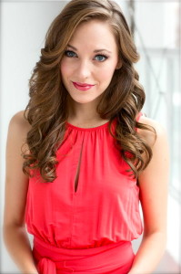 Midwest native and Tony nominated actress, Laura Osnes. Photo by Nathan Johnson.