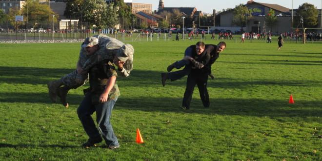 ROTC Teaches Movement Techniques