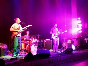 The Speedbumps at the performance in The Encore on October 9th. Photo courtesy of Allison Birr.