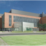 A conceptual view of the proposed new science building. Photo courtesy of cwengineers.com