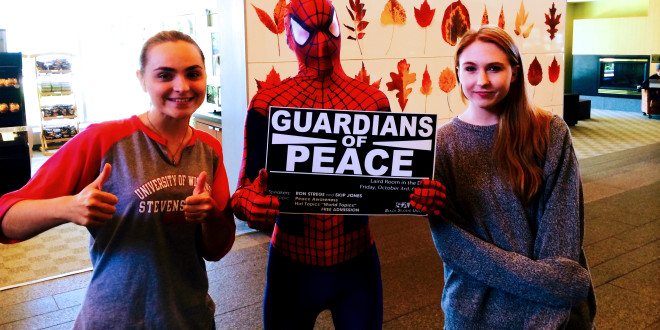 Students Rise for Peace