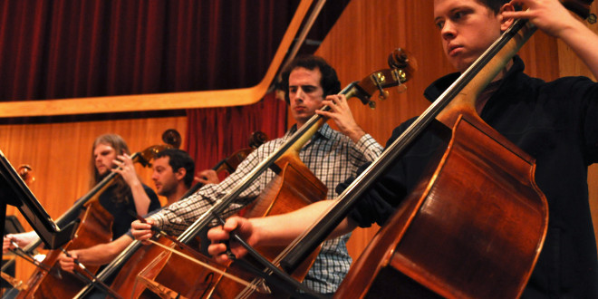 Symphonic Orchestra Prepares for Fall Concert