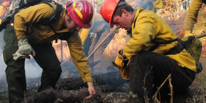 Students Combat Wildfires