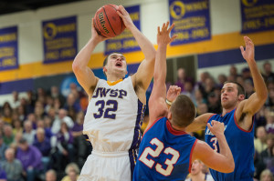Joe Ritchay is one of four seniors UWSP will count on this season. Photo by Jack McLaughlin.