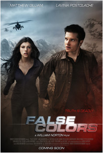 "Movie poster for ""False Colors."" Copyright © Remote Station Entertainment."