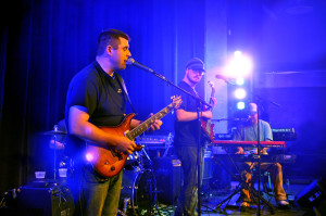 Bowser Plays at the Funkin Ball in the Encore on Thursday. Photo by Emily Hoffmann.