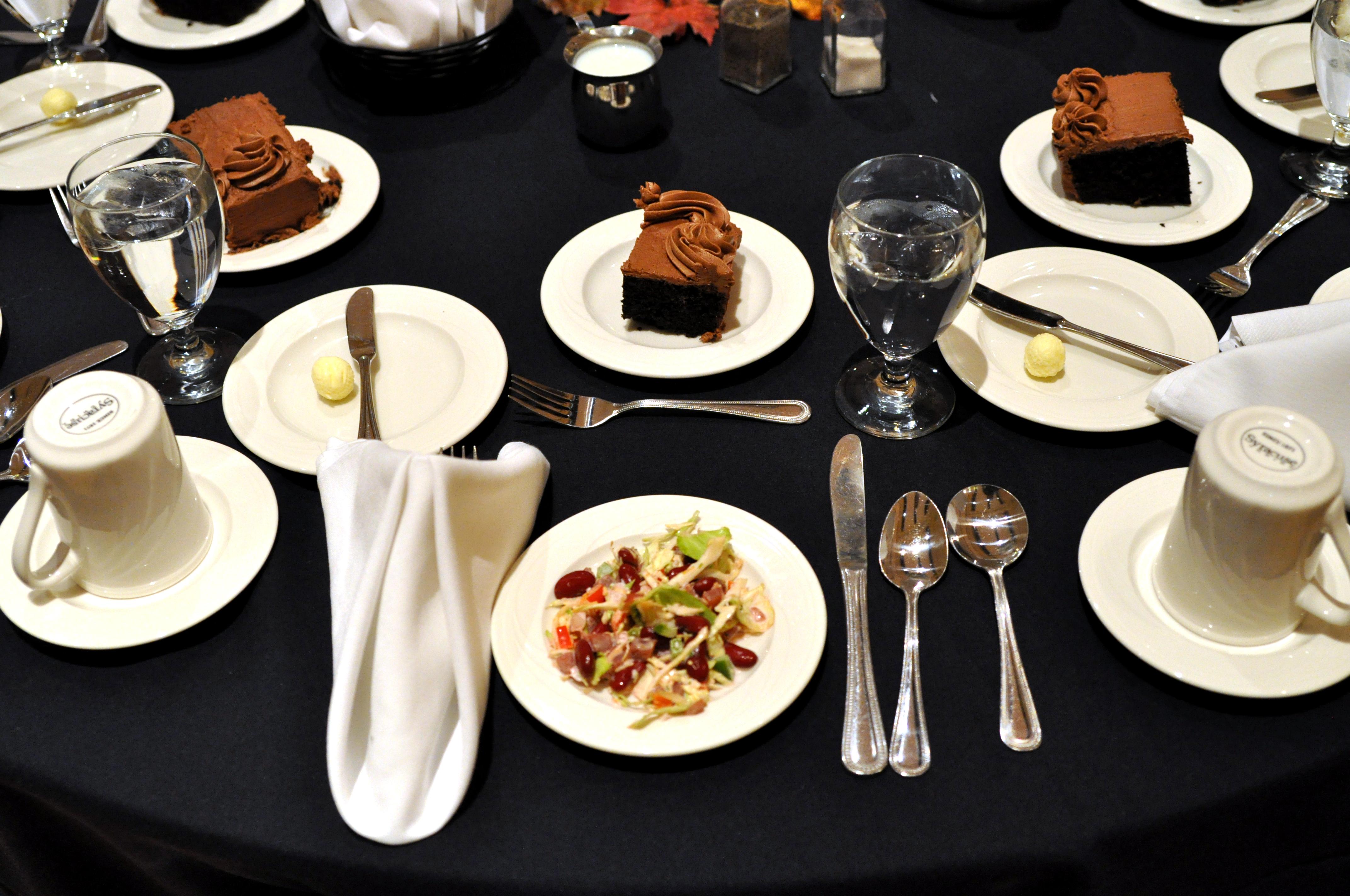 Etiquette Dinner Prepares Students for Professional World