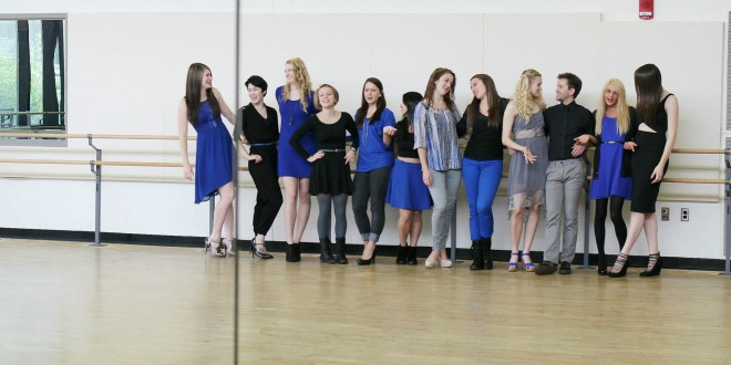 Senior Dancers Arrange Recreated Pieces