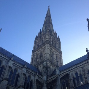 The Salisbury Cathedral. Photo by Carly Keen.