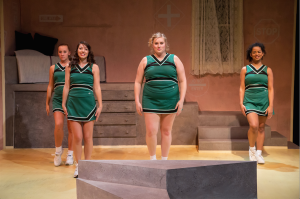 """""""Be Aggressive"""" shows in the NFAC through Feb. 14. Photo by Doug Moore."""
