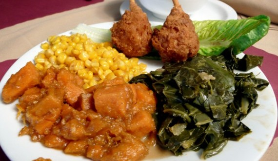 Professor Dishes Out Emotion at Soul Food Dinner
