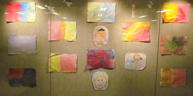 Tomorrow River Students Display Artwork