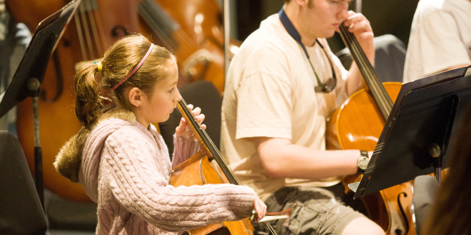 Workshop Provides Outreach to Young Musicians