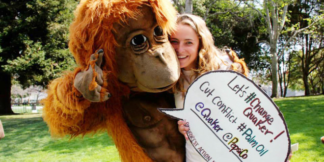 Students Attend Conflict Palm Oil Leadership Summit in California