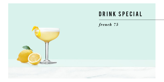 Behind the Bar: French 75