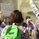 UWSP Students Protest Proposed Budget Cuts