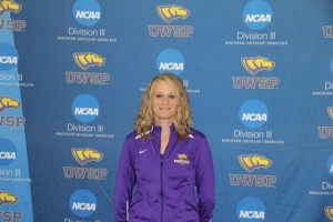 Courtesy of UWSP Athletics Katelyn Asfeld is one of the team's top players.