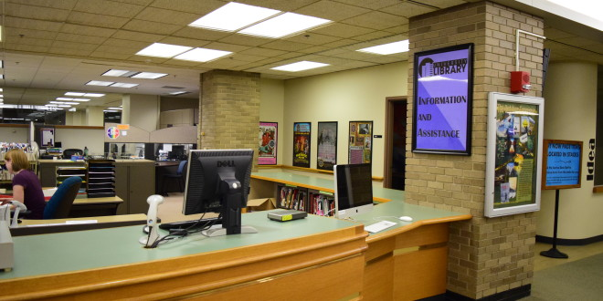 Library Is Still Crucial to Students' Success