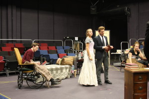 Photo by Allison Birr Cast members rehearse.