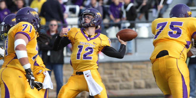 Larson's Five Touchdowns Power UWSP to Homecoming Win