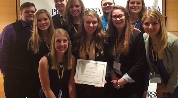 PRSSA Chapter Wins Teahan Award First Time in UWSP History