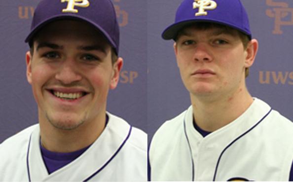 Justin Jirschele (left), Cody Koback (right). Photos courtesy of www.ncaadiiibaseballchampionship.uwosh.edu (left), d3baseball.com (right).