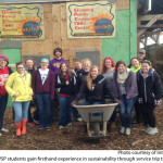 UWSP students gained firsthand experience in sustainability through service trip to Milwaukee. Photo courtesy of Intercity Impact.