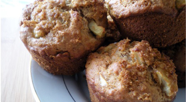 Pointerest – Whole Wheat Apple Muffins Recipe