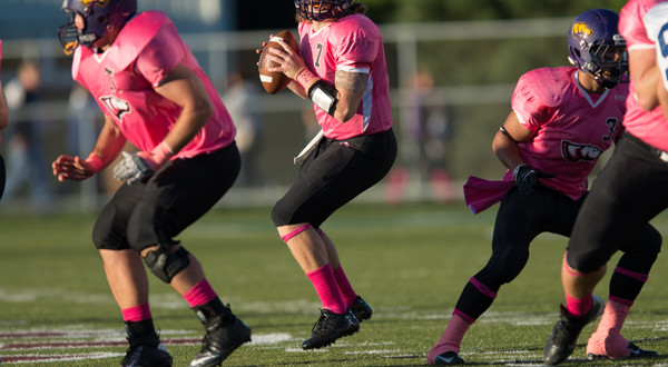 Pointers Win Big in Pink Game