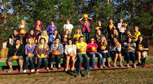 Halloween and Team Spirit at Altenburg's Farm