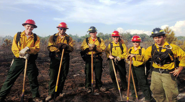 Students Gain Experience through Fire Crew