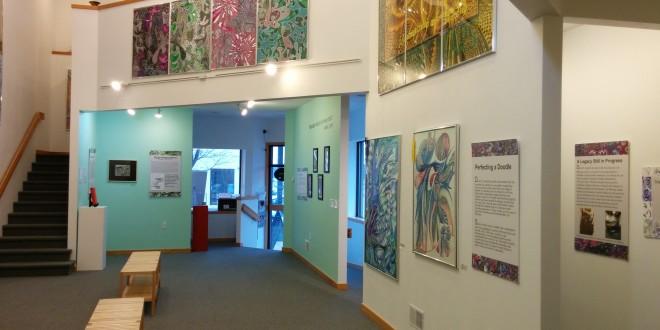 Students Showcase David L. Smith's Artwork at Scarabocchio Art Museum