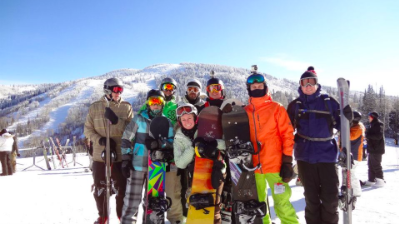 Skiers, Snowboarders Anxious to Get Outside