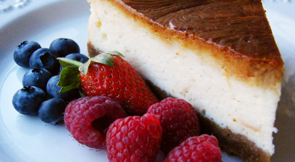 Cheesecake: It's what's for dessert