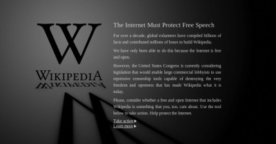SOPA Elicits Massive Response from Internet companies, consumers