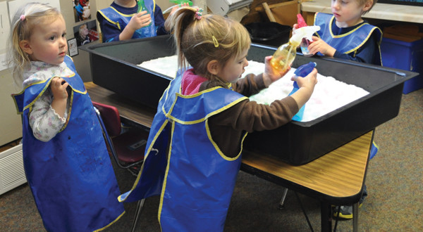 Nationally Accredited University Childcare Center Receives 5 Stars