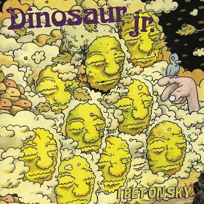 """Dinosaur Jr. - """"I Bet On Sky"""" 2012 Jagjaguwar Records."""