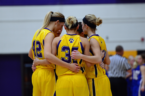 The University of Wisconsin - Stevens Point women's basketball team defeated Marian University 68-19 Tuesday evening. Photo by Jack McLaughlin.