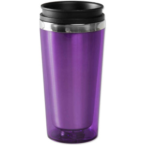 Reusable coffee mugs are a good way to cut down on waste. Photo courtesy of customink.com