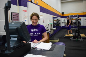 Strength Fitness Center Staff Work to Enhance Activity Level in the Building
