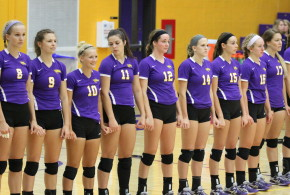 Purple Pride for UWSP Volleyball
