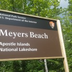 The Apostle Islands National Lakeshore in Bayfield, Wis. is joining in on the Centennial celebration. Photo by Genevieve Adamski.
