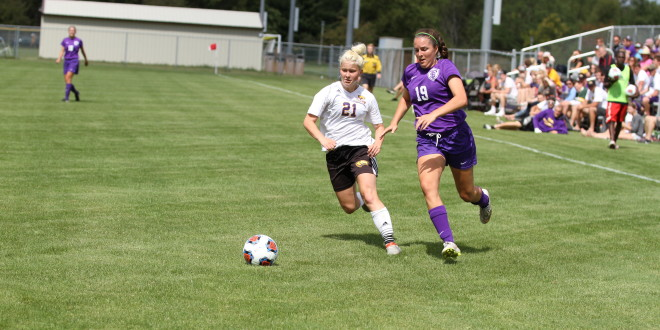 Soccer Scores Four Goals in Win